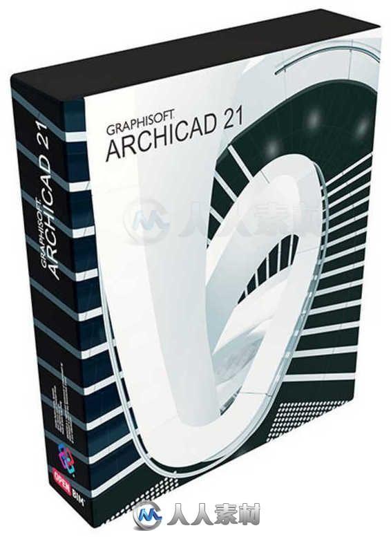 ArchiCAD三维建筑设计软件V21.5010版