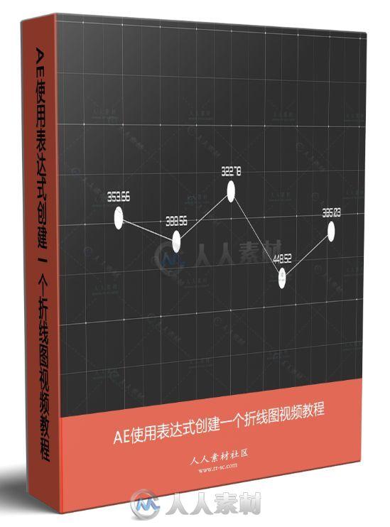 AE使用表达式创建一个折线图视频教程