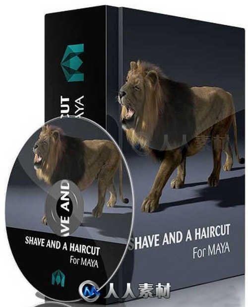 JoeAlter Shave A Haircut头发毛皮Maya2016-2017插件V9.5 V14版