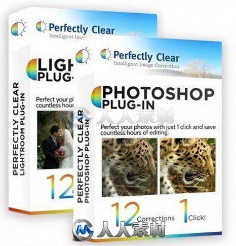 Athentech Perfectly Clear图像修饰磨皮调色PS与LR插件