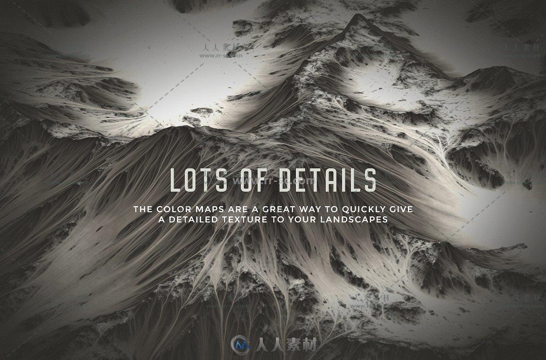 20组4K高清地质地貌景观纹理贴图合集
