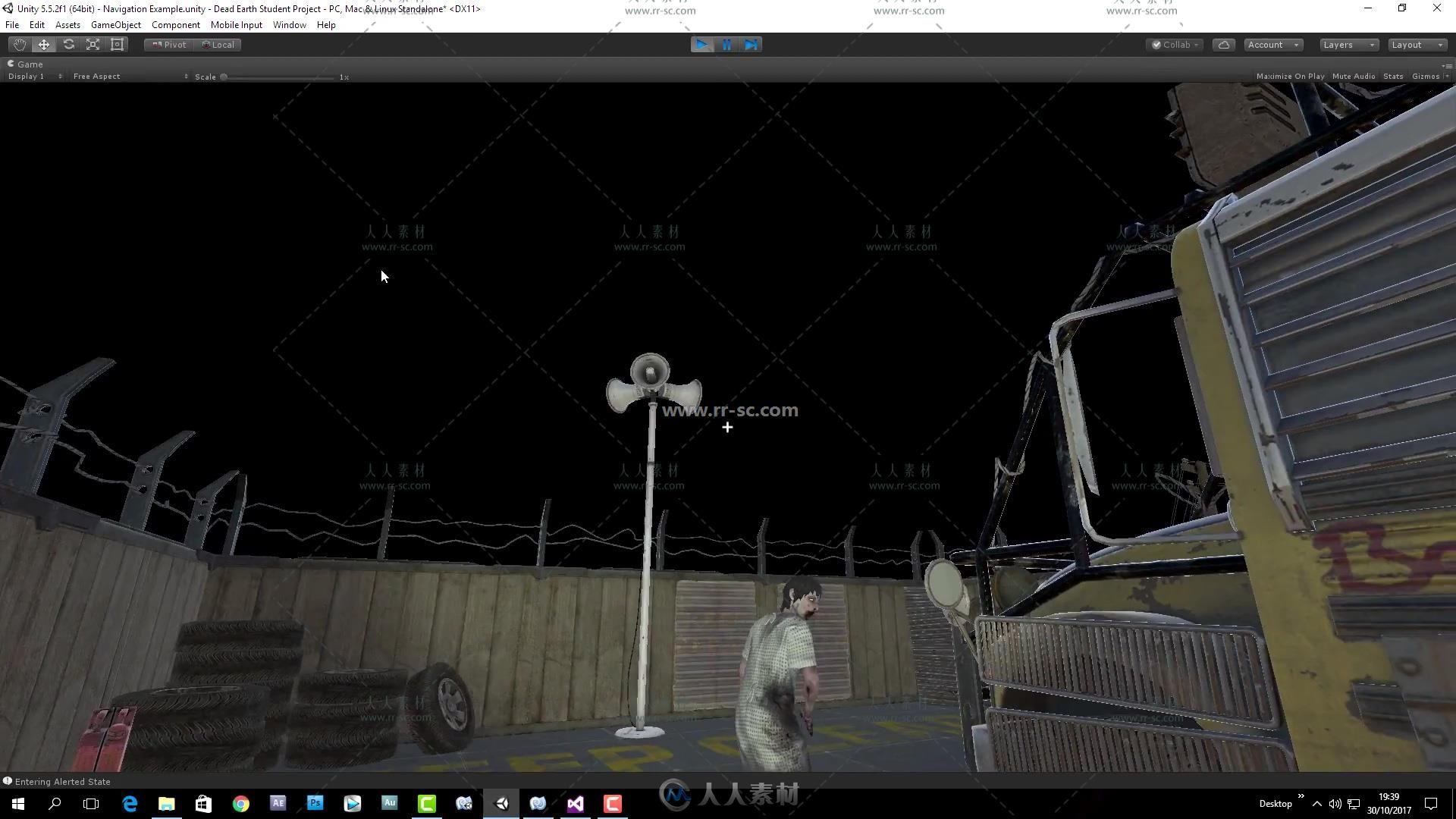 Unity大型游戏《死亡星球》完整实例制作训练视频教程第二季