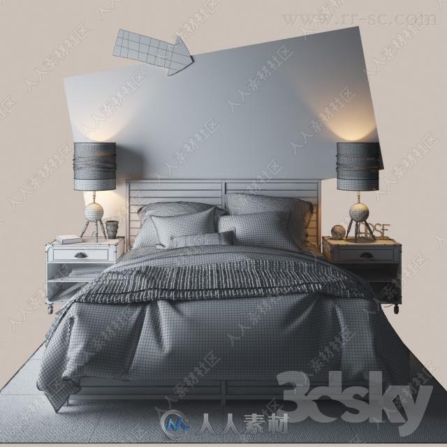3dsky床具床品3D模型合集16 / 作者:抱着猫的老鼠 / 帖子ID:16743028,4560353
