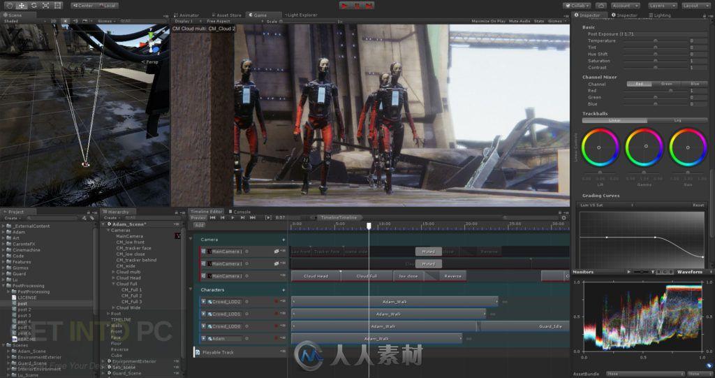 Unity Pro游戏开发引擎软件V2019.2.0 A4版40 / 作者:抱着猫的老鼠 / 帖子ID:16753941,5488257