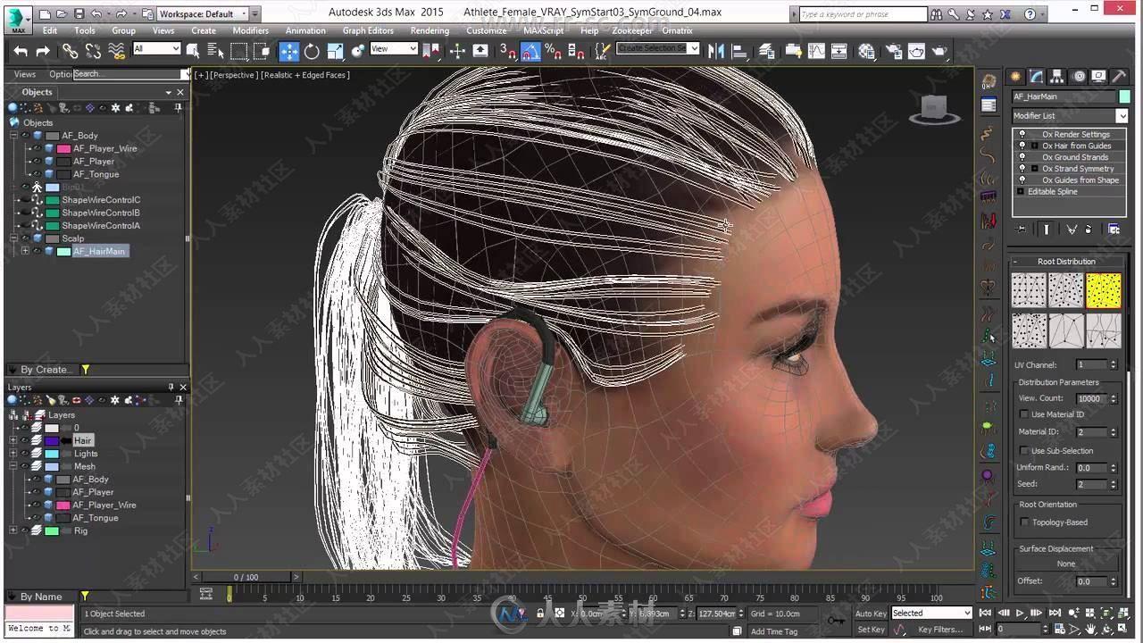 Ephere Ornatrix头发毛发Maya插件V3.0.5.24067版91 / 作者:抱着猫的老鼠 / 帖子ID:16762322,6531799