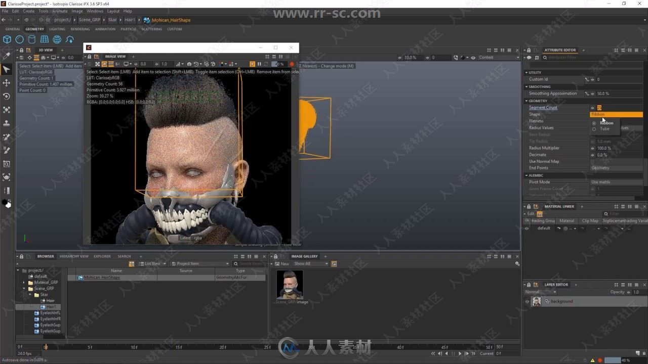 Ephere Ornatrix头发毛发Maya插件V3.0.5.24067版35 / 作者:抱着猫的老鼠 / 帖子ID:16762322,6531799