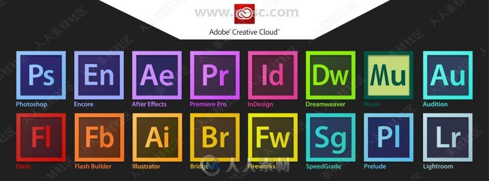 Adobe CC创意云系列大师版软件2021.3 Win版