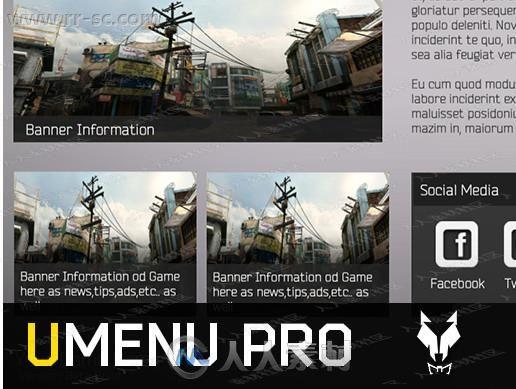 系统多重过渡功能菜单工具Unity游戏素材资源