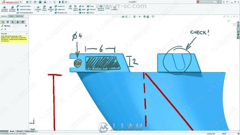 Solidworks 2019三维参数化设计软件SP3.0版