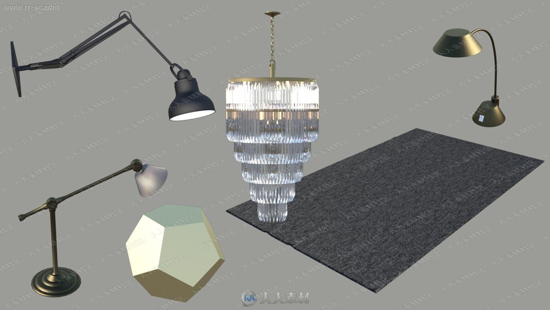 高贵典雅法式装饰风格巴黎外景房3D模型