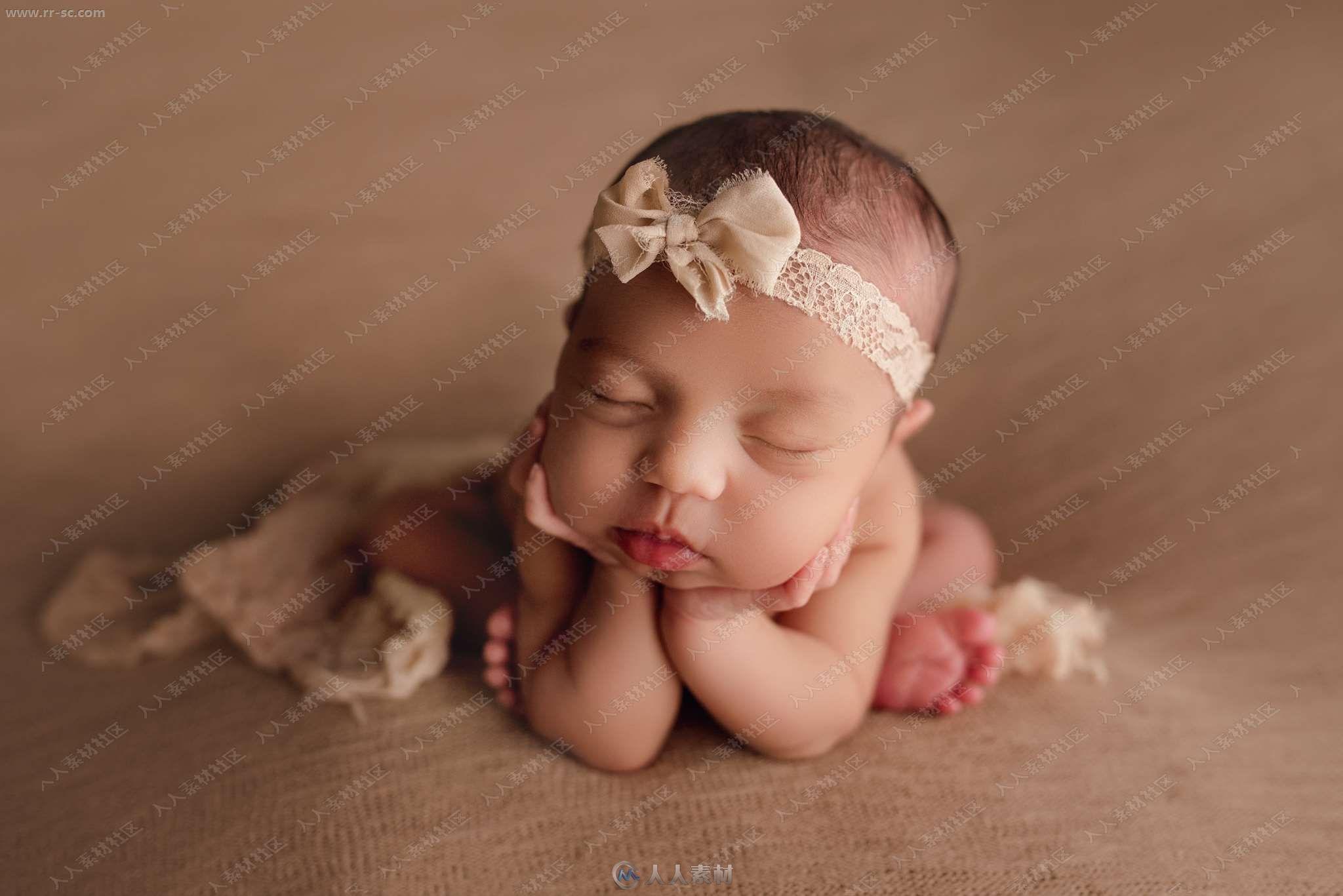 多组新生儿温馨艺术照后期调色Lightroom预设