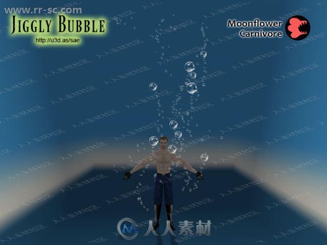 12组水下沸腾弹性气泡粒子系统Unity游戏素材资源