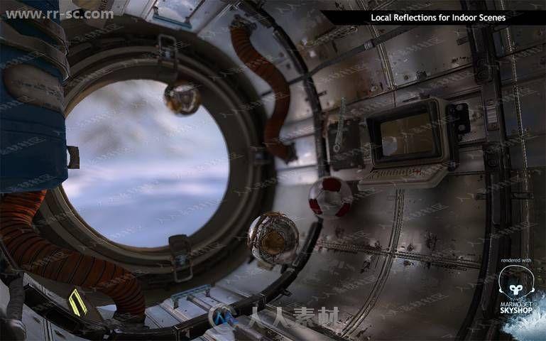 完整场景照明光线哑光镜面着色器Unity游戏素材资源