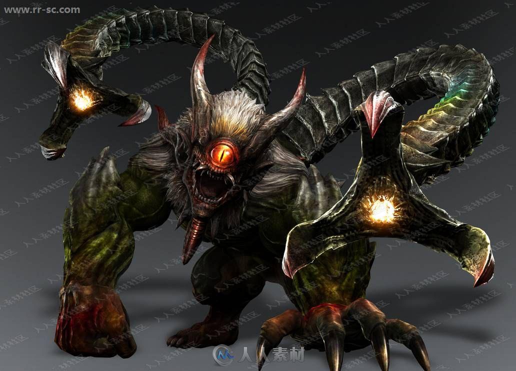 讨鬼传游戏高清角色武器怪物设定原画插画