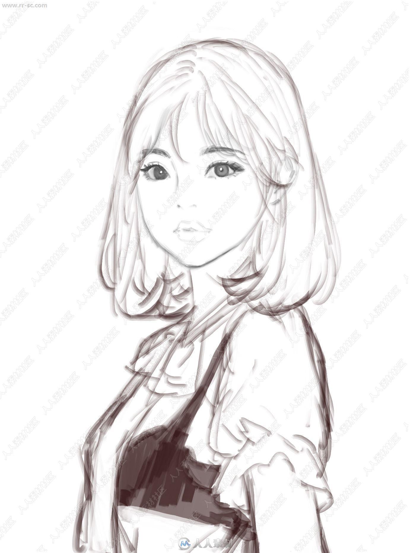 韩国插画师Ham Sung-Chou插画CG作品原画插画