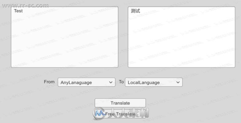 游戏谷歌云转换翻译工具Unity游戏素材资源