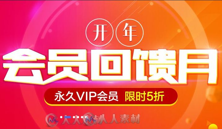 双11活动 | 永久VIP会员限时5折