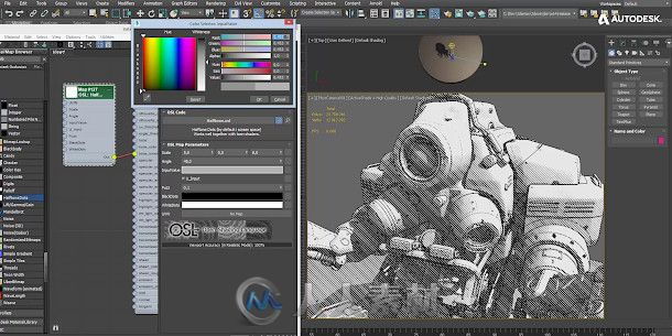 Autodesk 3dsMax三维软件V2020版75 / 作者:抱着猫的老鼠 / 帖子ID:16755078,5616723