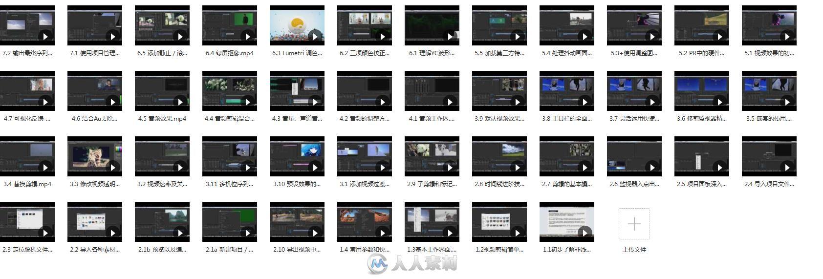 易次方Premiere cc中文入门到精通教程