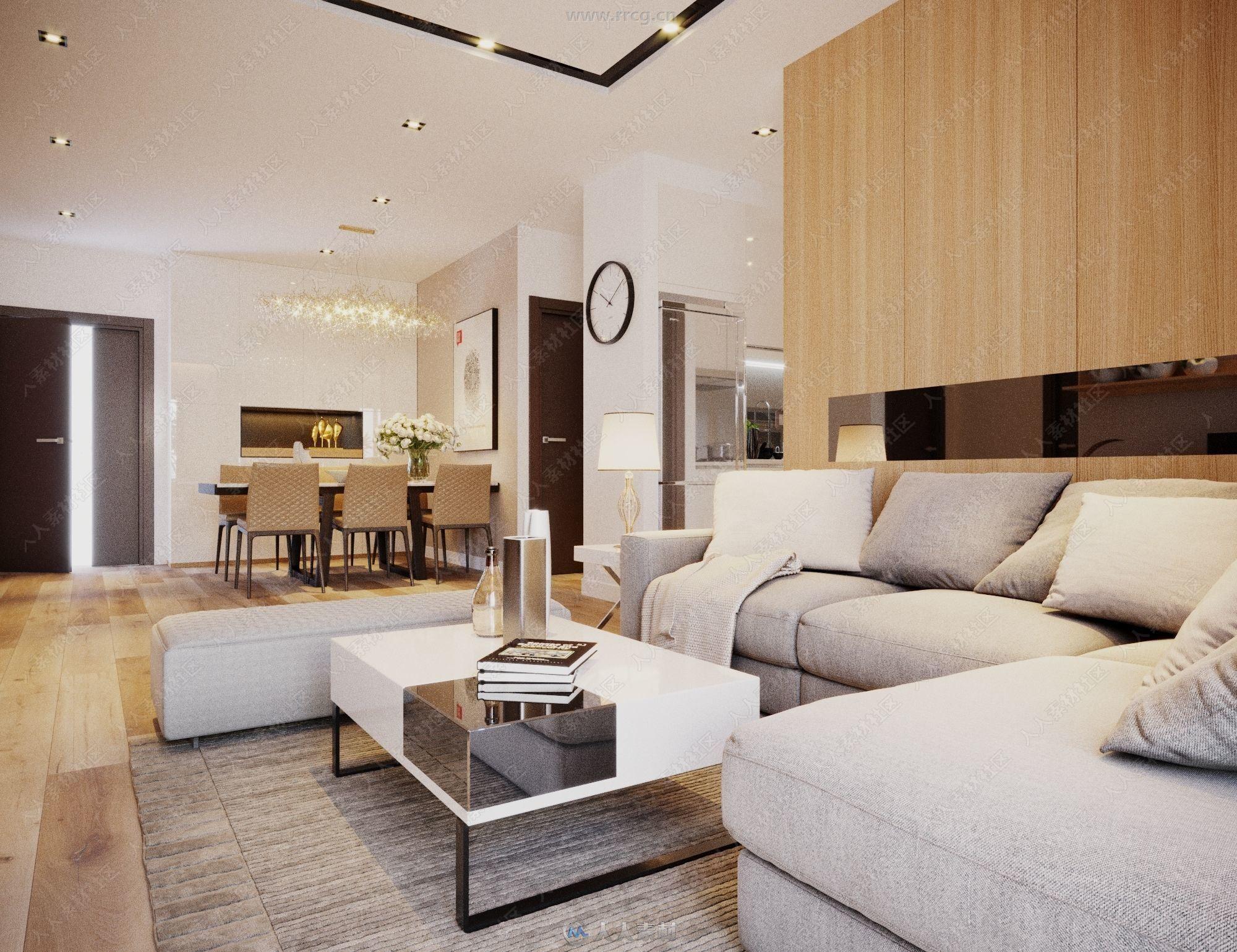 超高品质家居室内设计3D模型合集