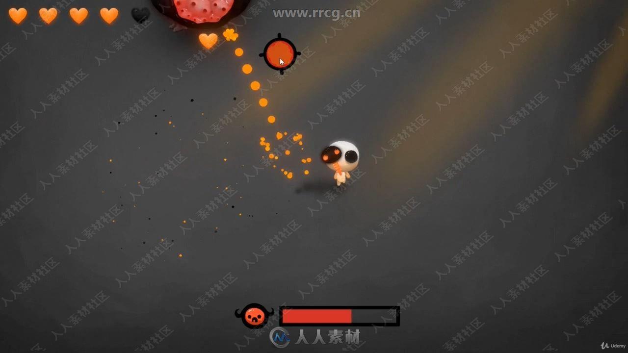 Unity中2D动作游戏开发艺术训练视频教程