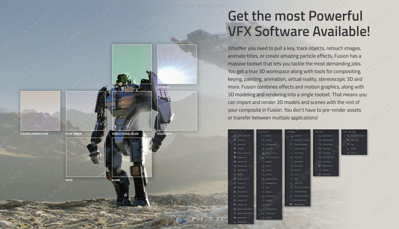 Fusion Studio 16影视特效软件V16.2.3 Win版7 / 作者:抱着猫的老鼠 / 帖子ID:16762006,6514121