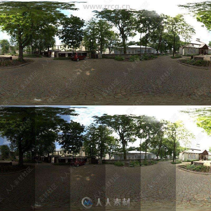 CGAxis超高清360度HDRI全景贴图合集第3季