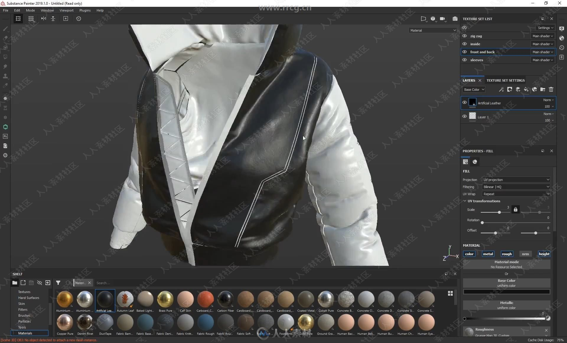 4 - Adding Realistic Texturing With Substance Painter.mp4_20190813_083953.650.jpg