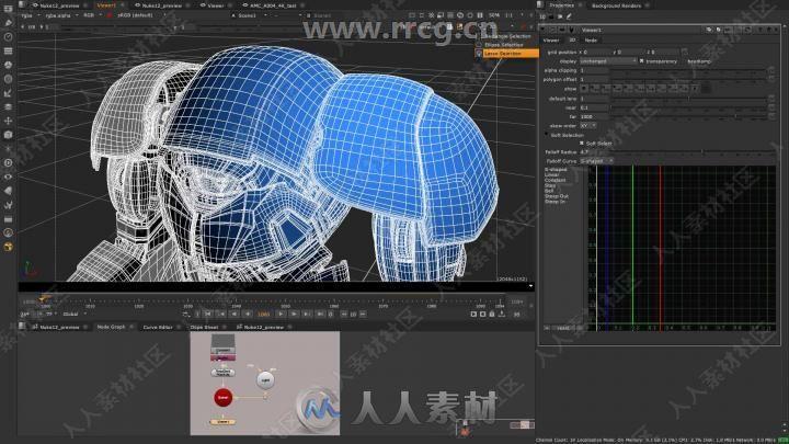Nuke Studio影视后期特效合成软件13.0v2版