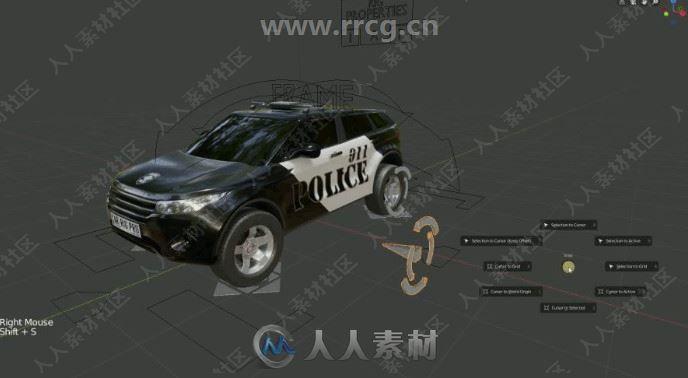 Car-Rig Pro车辆车轮骨骼动画Blender插件V2.0版