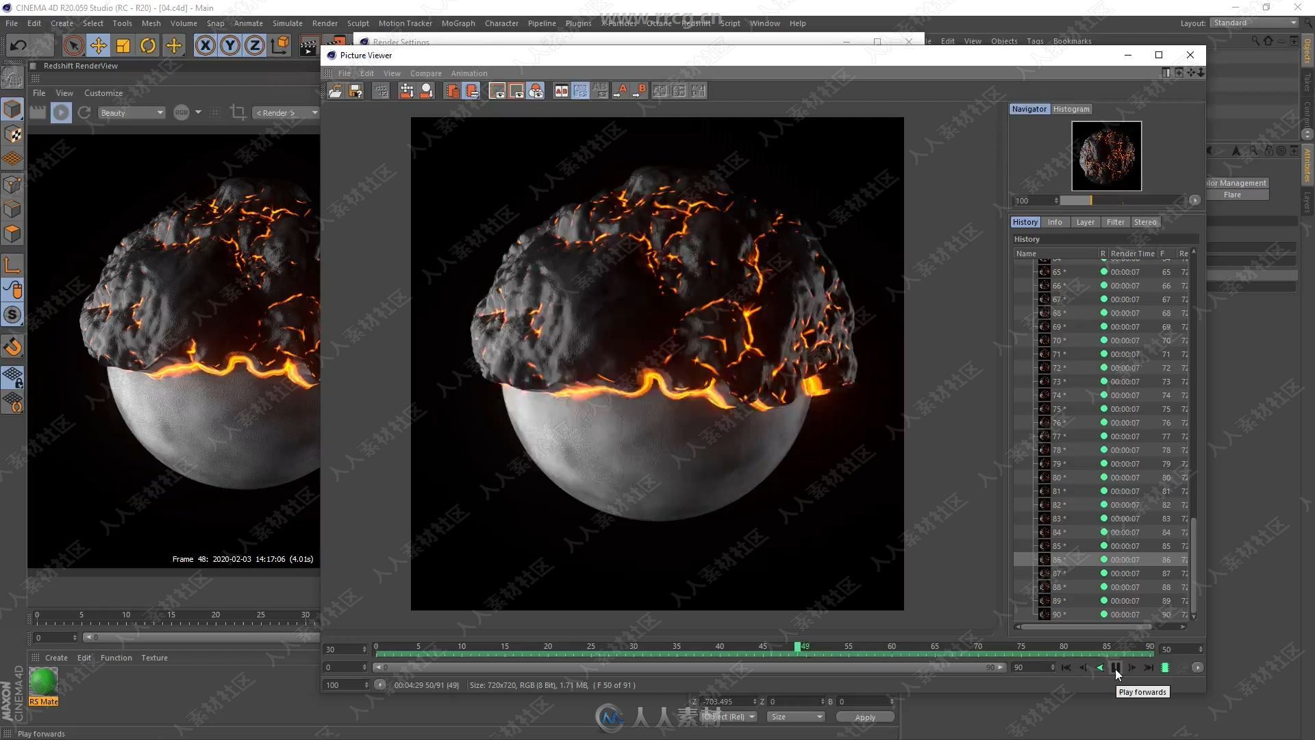 382477-5 - 04 - Finishing Materials and Render - Cinema 4D (R20 ) & Redshift W.jpg