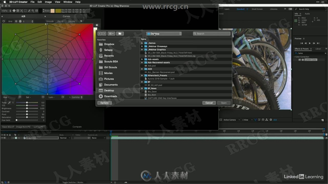 050 Creating a LUT with 3D LUT Creator.mp4_20200315_205346.285.jpg