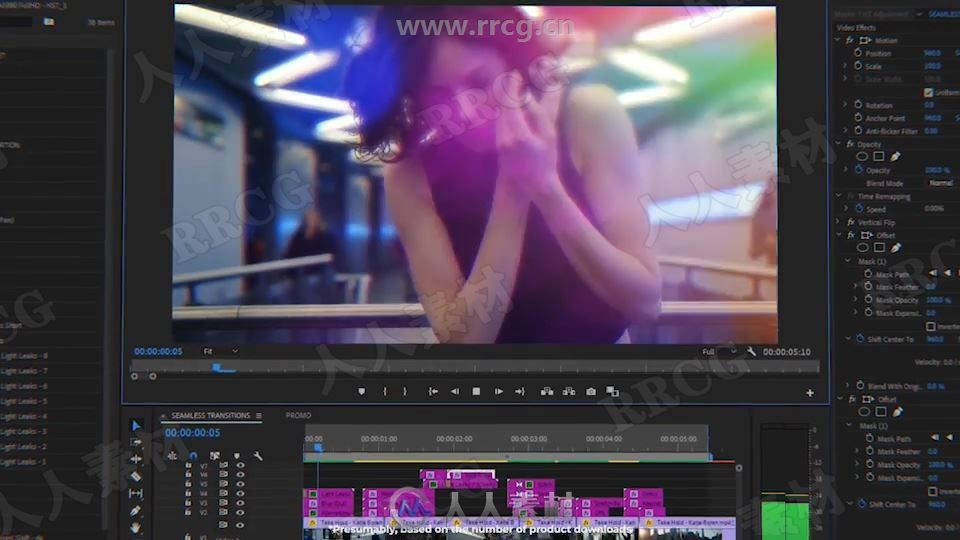 Videolancer's Transitions for Premiere Pro - Original Seamless Transitions .jpg