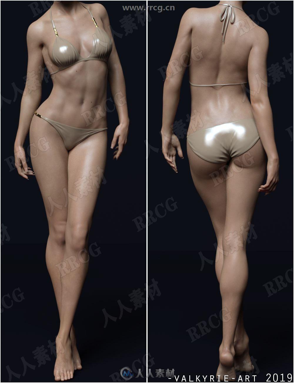 DC神奇女侠女性角色3D模型合集