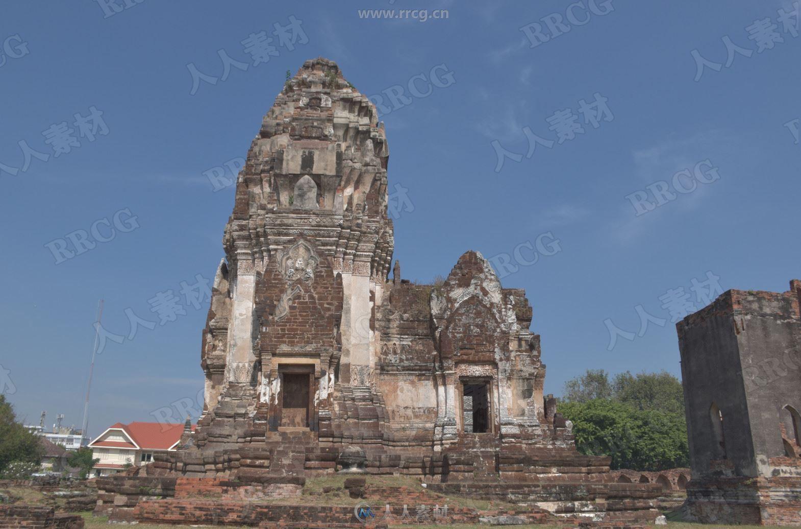 900组泰国古建筑废墟高清参考图片合集