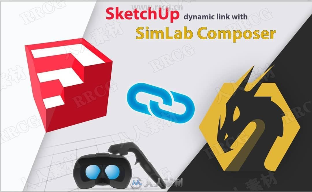 Simlab 3D格式转换SketchUp插件V10.0.0版