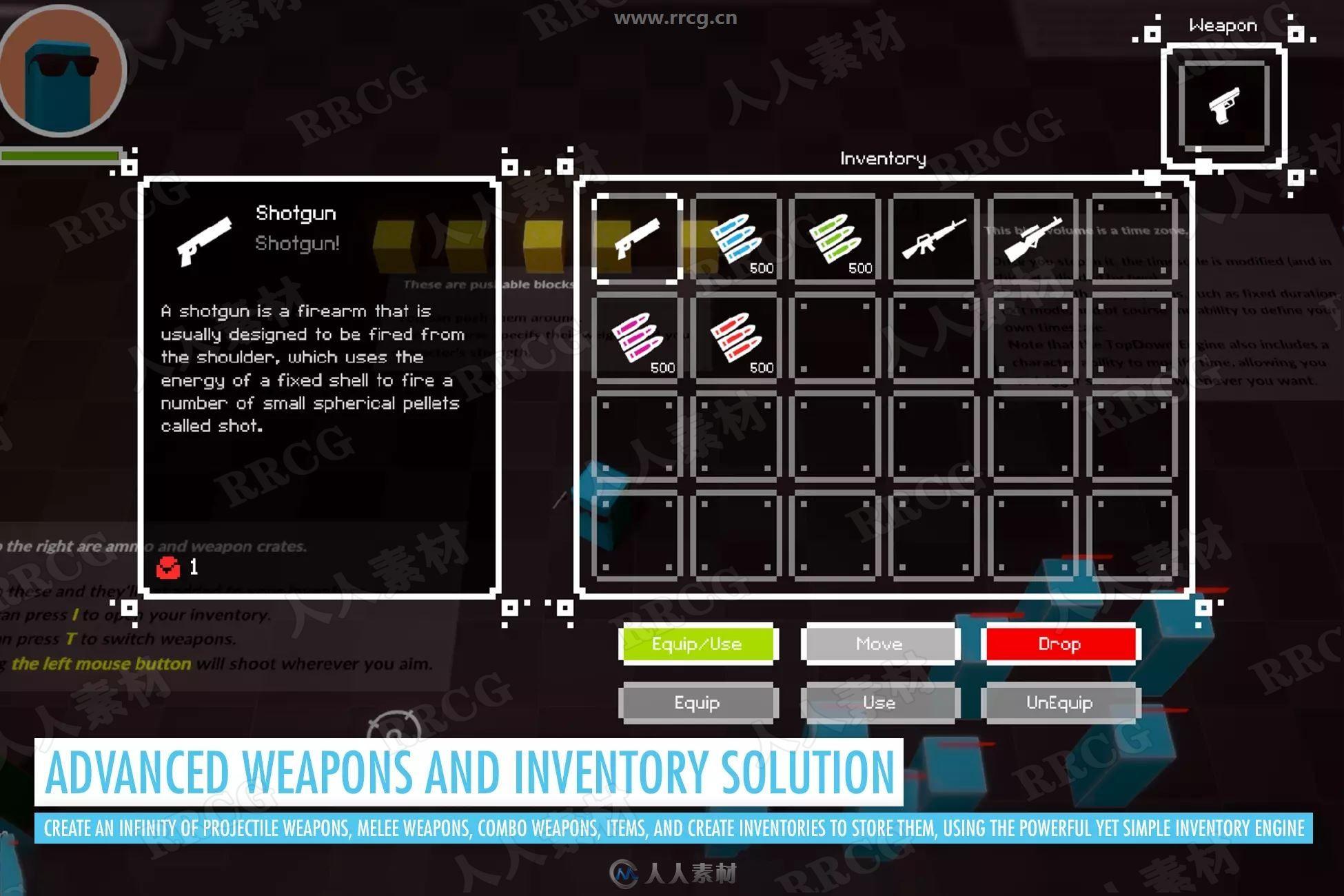 TopDown 2D3D游戏引擎Unity游戏素材资源