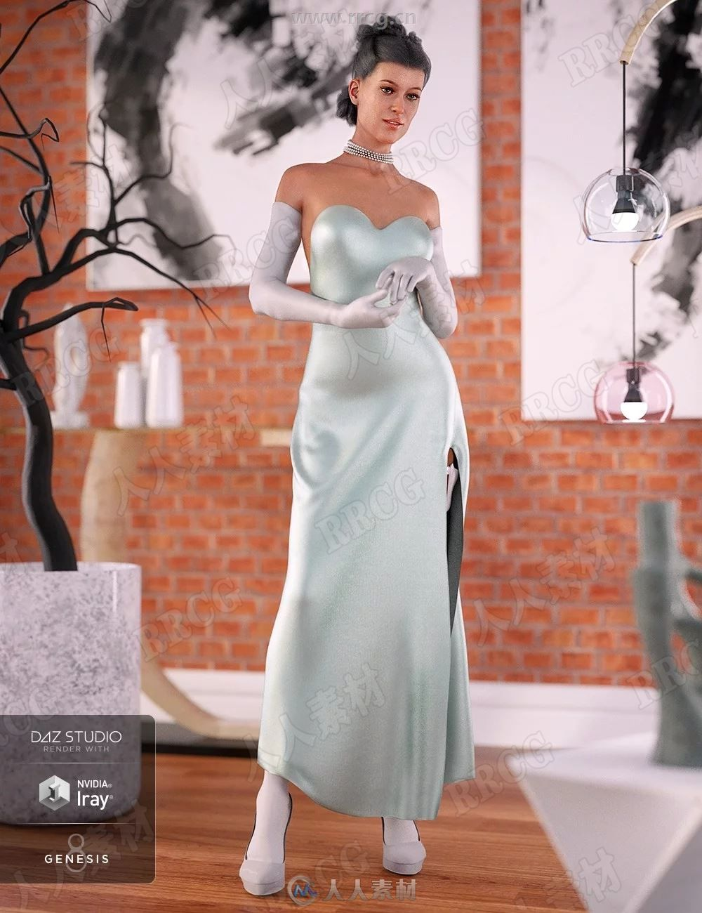 Josephene 8 Pro惊艳魅力女性角色3D模型合集