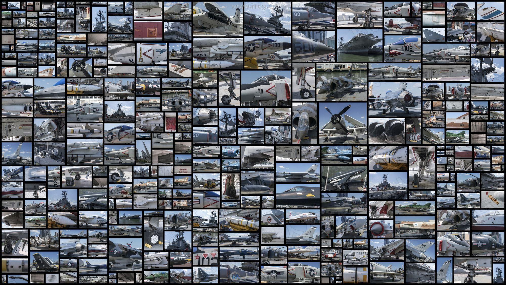 310组美国美军战斗机相关高清参考图片合集
