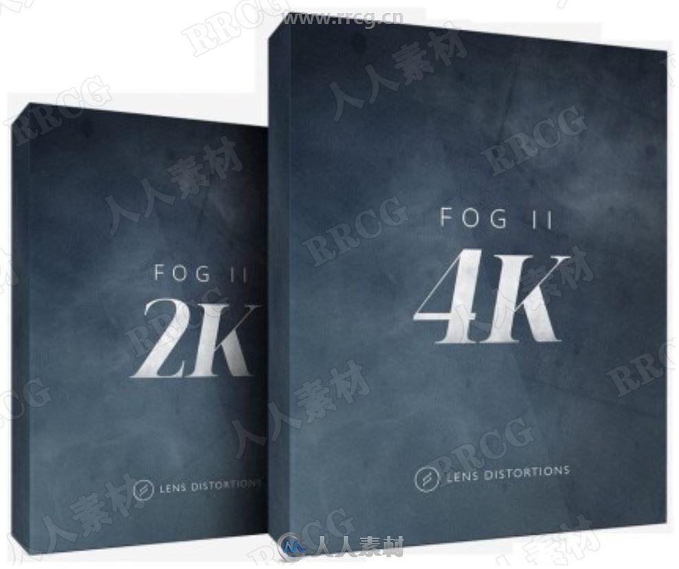 50组雾霾烟雾特效4K高清视频素材合集