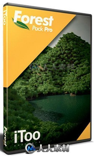 iToo Software ForestPack Pro森林草丛植物生成3dsmax插件V6.3.0版