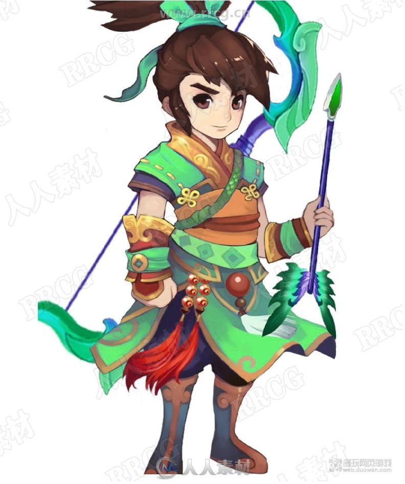 Q版中国风游戏类角色原画集