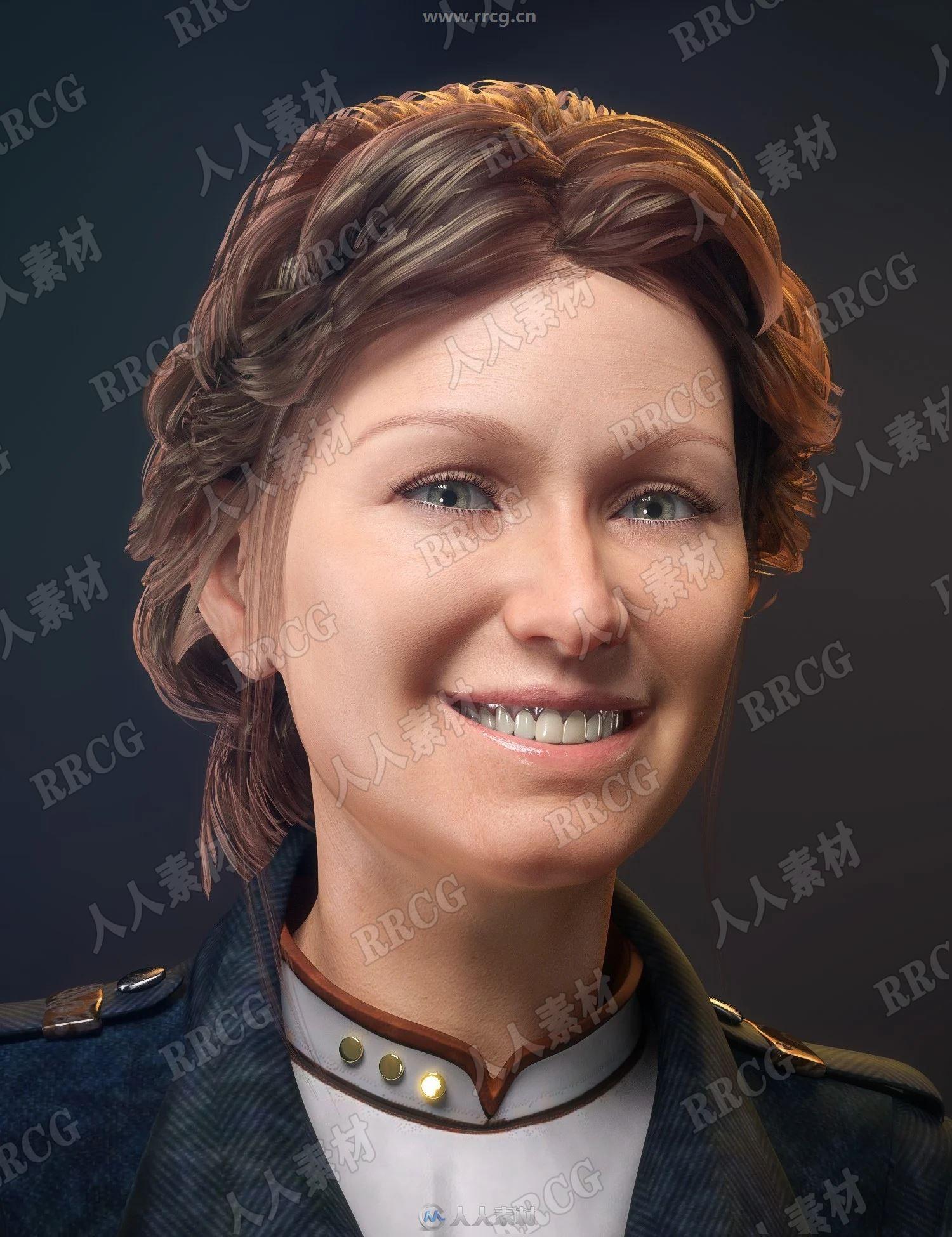 Aubrey 8 Pro经典女性角色3D模型合集