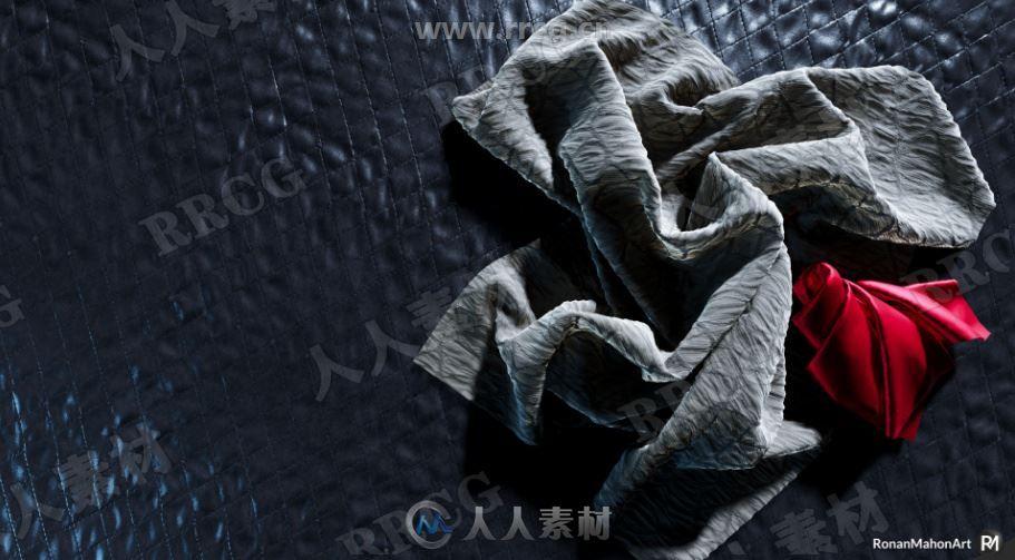 56组4K高清无缝针织物面料PRB纹理材质UE4游戏素材资源