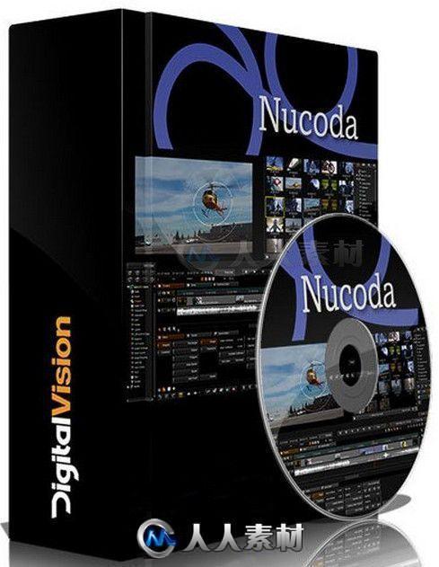 Nucoda数字媒体色彩分级校色软件V2019.2.042版