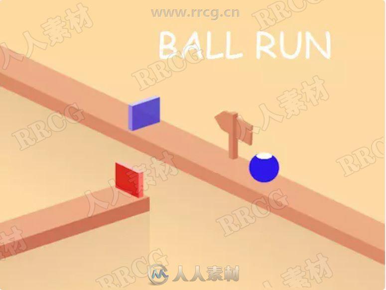 立体球状触摸躲避异色手机游戏完整项目Unity游戏素材资源