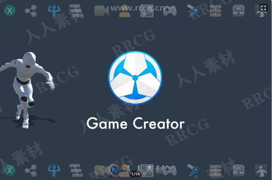 一键生成多功能3D角色完整工具套件模板Unity游戏素材资源