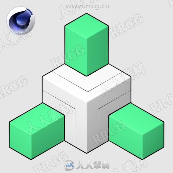 Symex对称几何形状复制C4D插件V1.0版