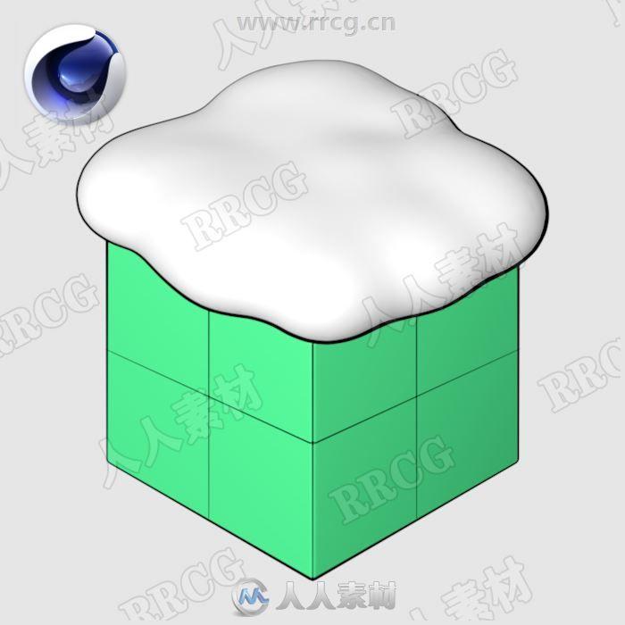 Snowgen积雪C4D插件V1.0版