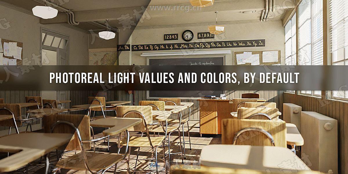 Extra Lights真实光照预设Blender插件